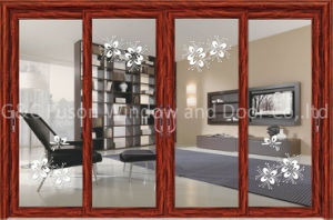 Ouble Glazed Aluminium Alloy Sliding Doors pictures & photos