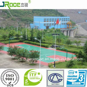 CE Approval Synthetic Basketball Court Factory Price pictures & photos