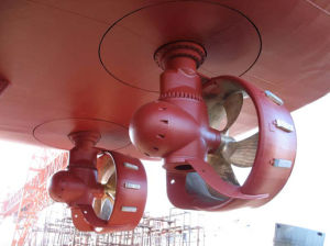 Iacs Approved Marine Propulsion Equipment E-Motor Driven or Diesel Engine Driven Rudder Propeller pictures & photos