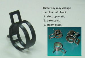Hose Clamp -65mn Steels Spring Clip pictures & photos