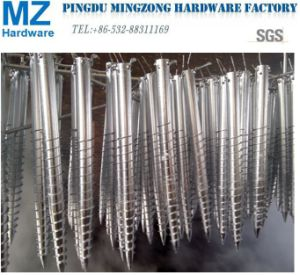 Hot Dipped Galvanized Steel Ground Screw for Solar Mounting pictures & photos