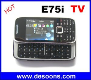 Kimfly E75I TV Mobile Phone with Qwerty Sliding Keyboard