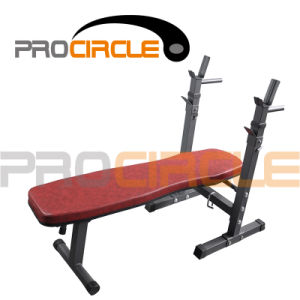 Crossfit Power Training Gym Equipment, Flat Weight Lifting Bench (PC-SE1004) pictures & photos