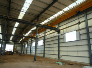 Stable Steel Structure for Warehouse, Workshop, Shed Building