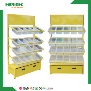 Convenience Store Snack Candies Shelf with Plastic Trays pictures & photos