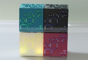 Portable Magic Rubik′s Cube Bluetooth Wireless 3c Architectural Aesthetics Speaker with FM/ Microphone/TF Card/Hands-Free Function pictures & photos