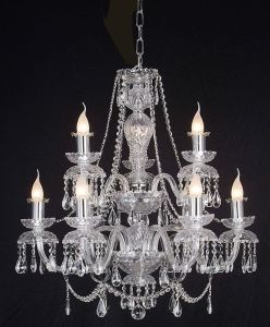 Crystal Chandelier (HLH-20827-6+3) pictures & photos
