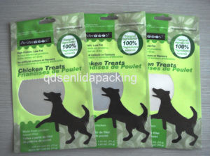 2.65 Oz Animals Treat Packaging Zipper Bag pictures & photos