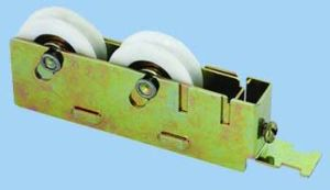 Jinlin Sliding Pulley Double Roller Wheel pictures & photos