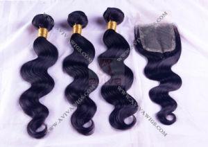 100% Unprocessed Natural Virgin Brazilian Hair Extension pictures & photos