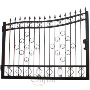 Customized High Quality Wrought Iron Fence / Gate pictures & photos