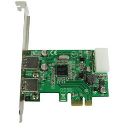 PCI-Express 2.0 to USB 3.0 Host Add-on Card (FG-EU30-N2T-0002E)