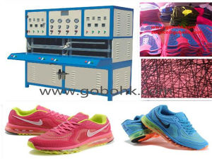 Kpu Sport Shoe Vamp Making Machine pictures & photos