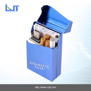 E-Cigarette with Blue Metal Case (805A-F)