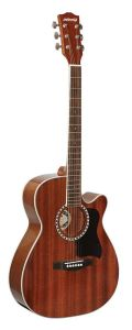 Sapele Wooden Acoustic Guitar (AGW4018C Guangzhou)