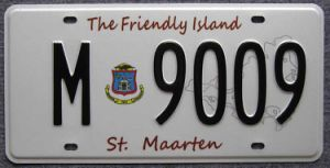 Aluminum License Plate Curacao (JS00130) pictures & photos