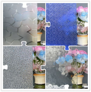 3mm, 4mm 5mm, 6mm Clear Figured Glass, Clear Patterned Glass pictures & photos