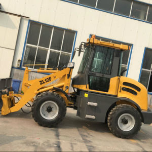 Hydraulic 4WD Boom Wheel Loader Zl12f pictures & photos