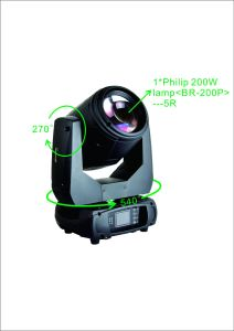 Mini Beam 5r Moving Head Stage Lighting for Club pictures & photos
