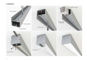 4239 Ceiling LED Light LED Aluminium Profile Channel LED Light pictures & photos
