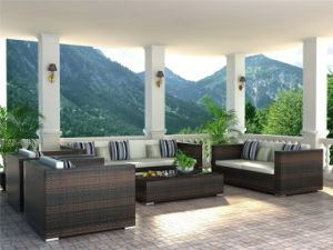 Pation Rattan Furnitures (MS-003)