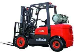 3.5 Ton Gasoline/LPG Forklift Truck (CPQYD35FR)
