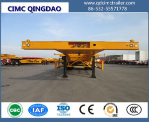 Cimc 3 /4 Axles Freight Agency 53FT Chassis Trailer pictures & photos