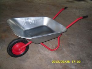Galvanization Wheel Barrow (export for the EU market)