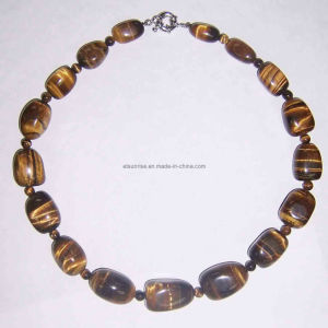 Semi Precious Stone Beaded Jewelry Necklace (ESB01303) pictures & photos
