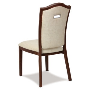 Stackable Hotel Restaurant Metal Leather Dining Chairs pictures & photos