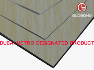 GLOBOND Grainy Finish - Aluminum Composite Panels (PF-7124) pictures & photos