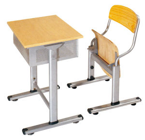Classroom Furniture School Desk and Chair (SF-55S) pictures & photos