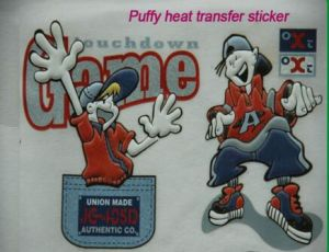 3D Puffy Heat Transfer Stickers for T-Shirt pictures & photos
