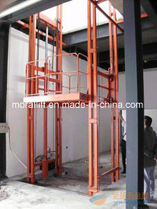 Vertical Guide Rail Cargo Lift Platform pictures & photos