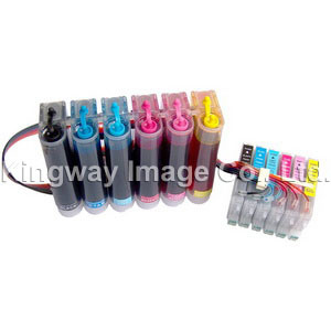 Continuous Ink Supply System, CISS for EPSON T0481/2/3/T4/5/6 6C (CS-E24)