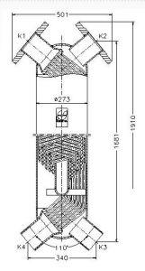 JAD XK 12.114 Heat Exchanger