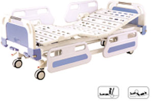 Furniture Central Locking Movable Full-Fowler Hospital Bed with ABS Head / Foot Board pictures & photos