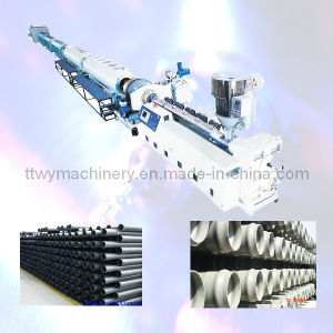 HDPE Water & Gas Supply Pipe Extrusion Line Plastic Machine (TWP-63) pictures & photos