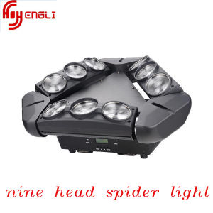 9*10W Full Color Spider Moving Head Light for Disco Lighting (HL-062) pictures & photos
