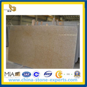G682 Misty Yellow Granite Gangsaw Slabs (YQA) pictures & photos