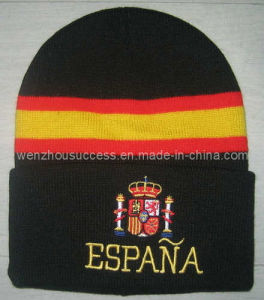 Knitted Hat (SS08-1K-ESPANA) pictures & photos