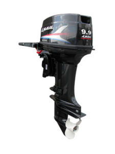 2-Stroke 9.9HP Outboard Motor With Electric Start and Tiller Control pictures & photos