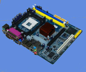 Esonic G41-478 Motherboard, Support DDR3 & DDR2