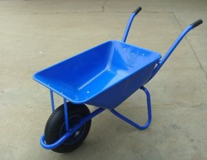 3in 1 Handle with Steel Tray Wheelbarrow/Wheel Barrow (WB2201) pictures & photos