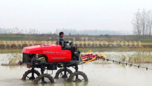 Aidi Brand 4WD Hst Diesel Engine Machine Boom Sprayer for Herbicide Vehicle