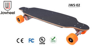 Ce Certified Professional 4 Wheels Electric Scooter 280W DC Brushless Longboard Electric Skateboard