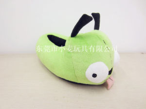 Functional Green Bird Stuffed Slipper