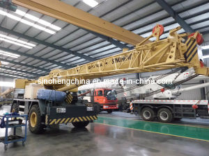 Hot-Sales Construction Machinery Mobile Crane Rough Terrain Crane with Four Wheel Drive for Tanzania 30 Ton Qry30A pictures & photos
