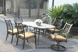 Hot Sale Cast Aluminum Dining Set Garden Furniture pictures & photos