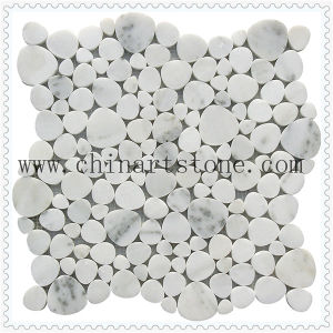 China Bianco Carrara Marble Mosaic for Wall Tile pictures & photos